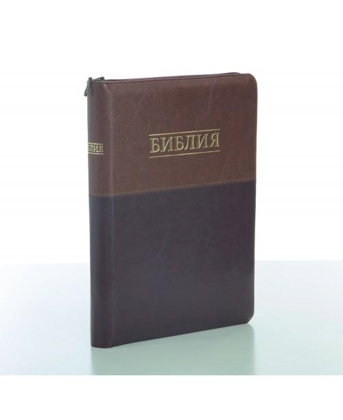 Библия 075 (Без индексов, замок) синод. перевод