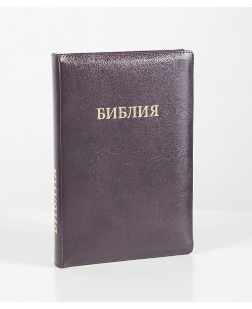 Библия 077 (Индексы, замок, кожа) синод. перевод